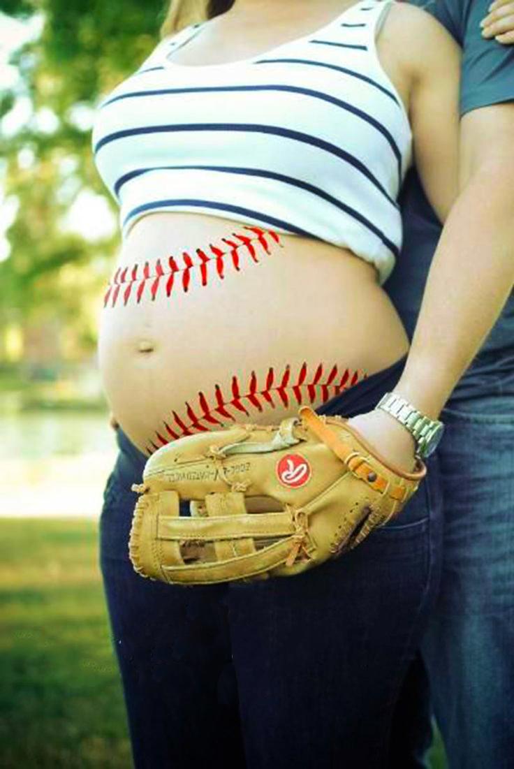 25 adorables ideas para tu sesión de fotos de maternidad