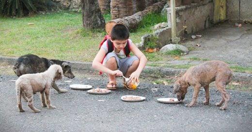 fotos que muestran como los niños actúan para poder vivir en un mundo mejor