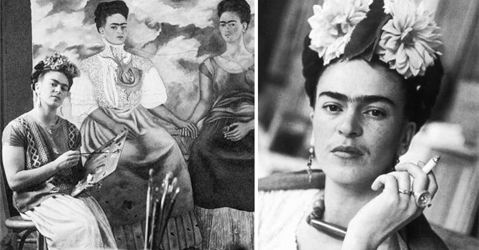 Galería de impresionantes fotografías que nos muestran algunos momentos de la vida de la gran Frida Kahlo