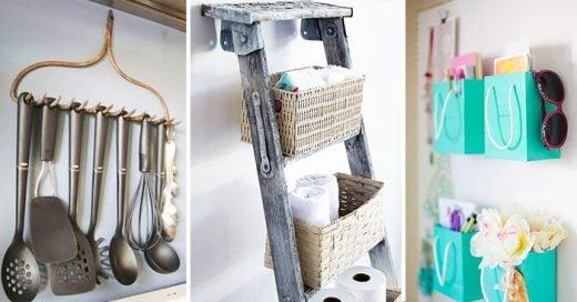 ideas ingeniosas para poner en orden las cosas en el hogar