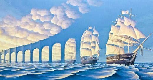 Alucinantes cuadros del artista canadiense Robert Gonsalves los cuales fuerzan al espectador a mirar una y otra vez ya que son ilusiones ópticas que cambia cada vez que las observan