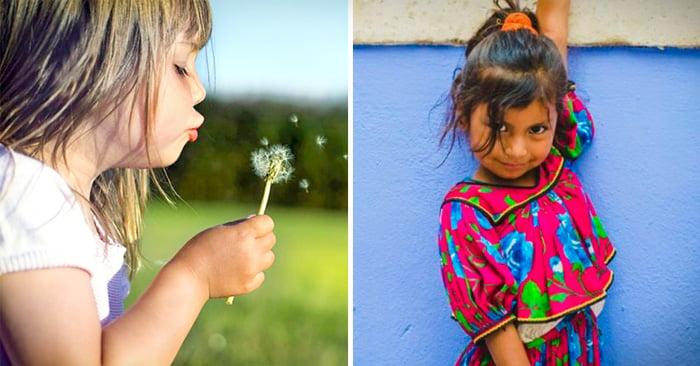 Imágenes que captan a la perfección la naturaleza e inocencia de los niños