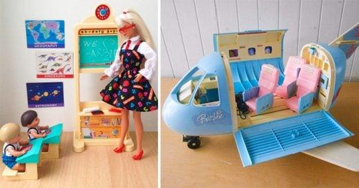 juguetes de Barbie que toda niña de los 90's soñó con tenerlos