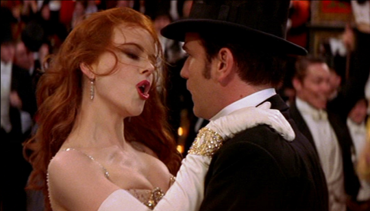 Escena de Moulin Rouge