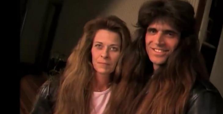 Tim y Wendy con cabello estilo 80s