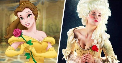 Imágenes que muestran como lucirían las princesas de Disney de acuerdo a su época