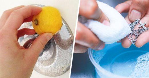 trucos para que las cosas del hogar vuelvan a lucir como nuevas