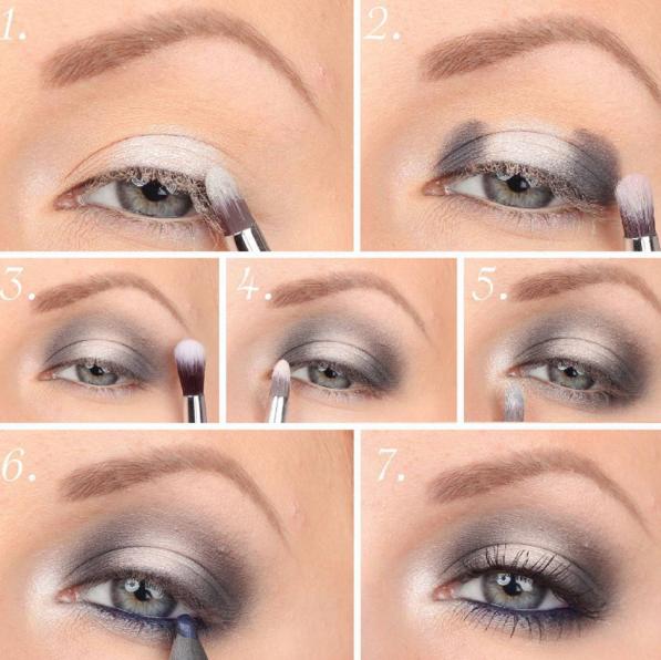 20 sorprendentes trucos de maquillaje con sombras de colores for Pintarse los ojos facil