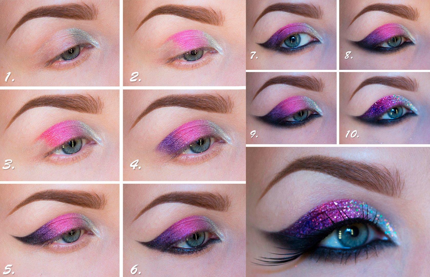 20 Sorprendentes trucos de maquillaje con sombras de colores
