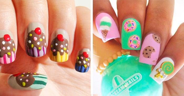 Diseños para uñas inspirados en postres