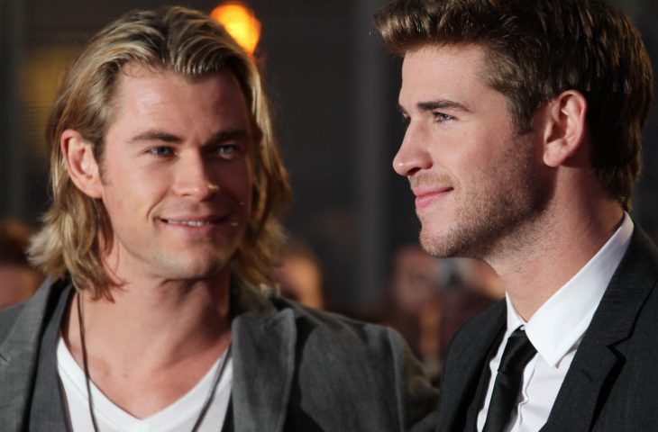 Chris y Liam Hemsworth