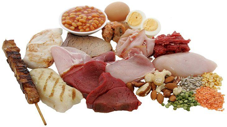 alimentos con proteína