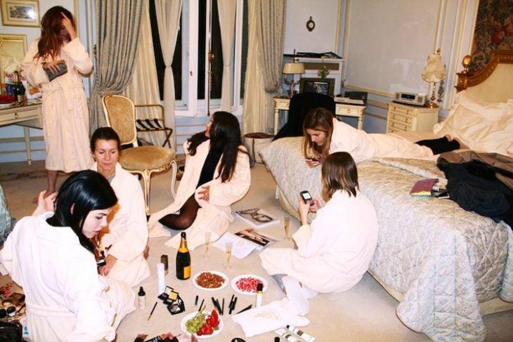 despedida de soltera pijamada hotel