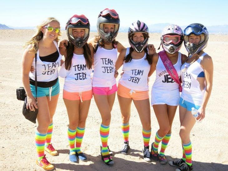 despedida de soltera chicas motociclistas