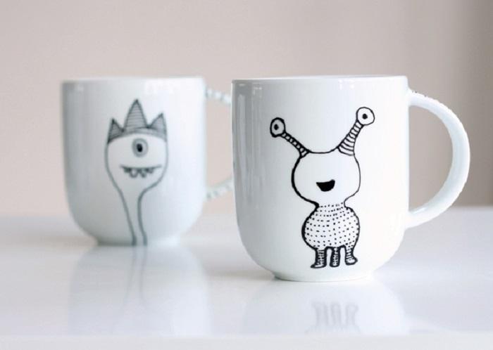 tazas de porcelana personalizadas