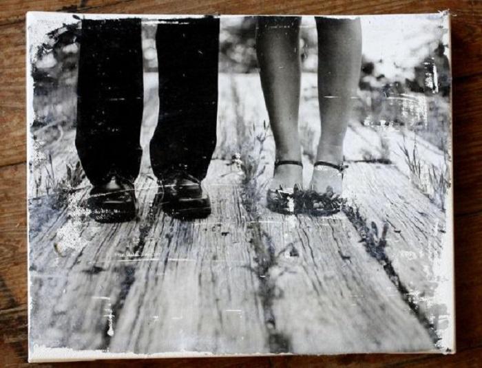 cuadro con fotografía