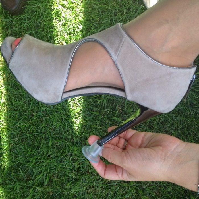 tapones para zapatos