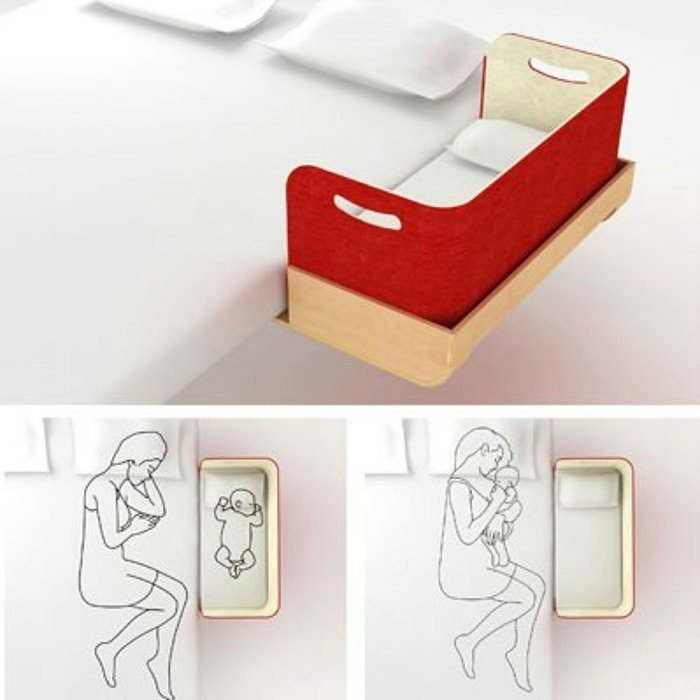 cuna lateral para cama