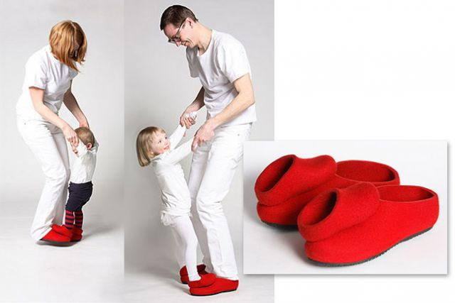 zapatos padres e hijos