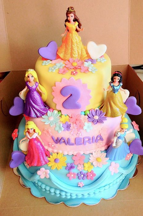 Pastel Disney Princesas