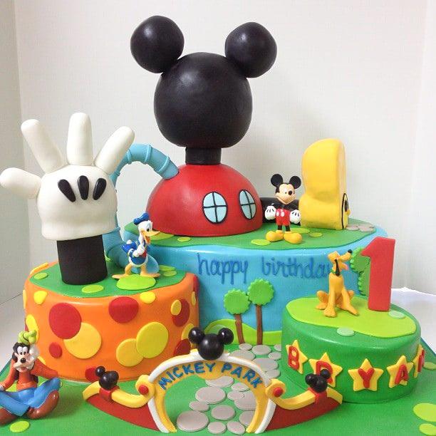 Pastel Disney Mickey y amigos
