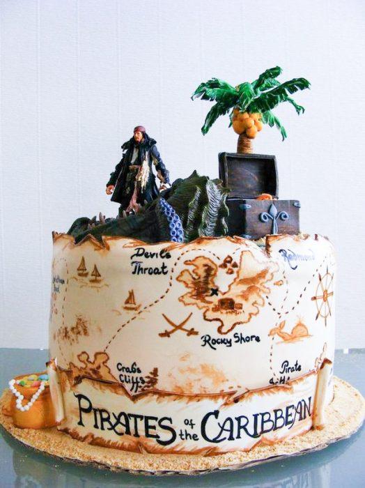 Pastel Disney Piratas del caribe