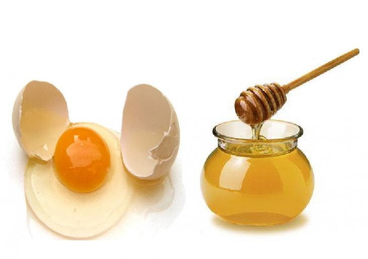 mascarilla huevo y miel