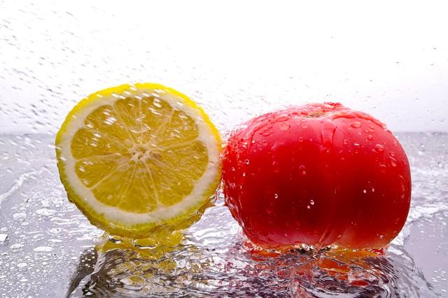 mascarilla jugo de tomate y limón