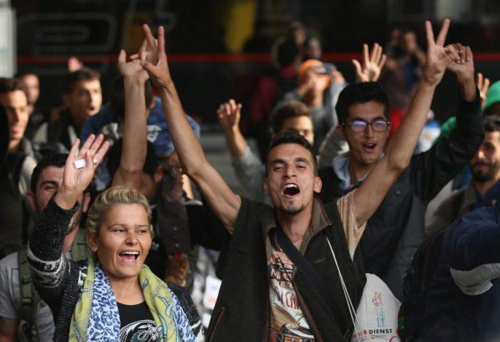 refugiados sirios en Alemania