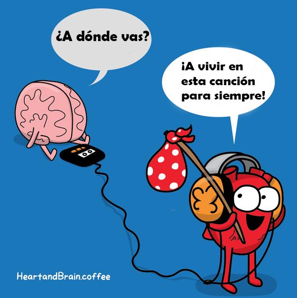 Corazón Vs Cerebro Cómic Awkward Yeti