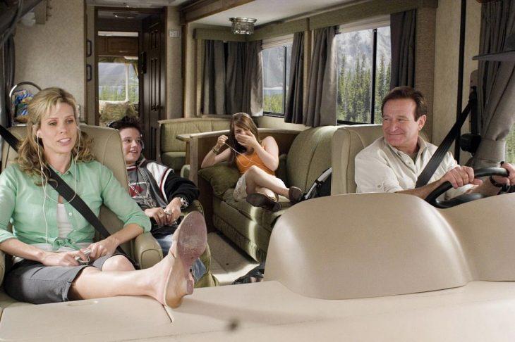 Escena de la película Unas locas vacaciones sobre ruedas