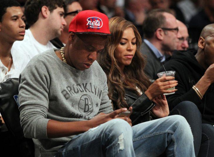 Jay Z enviando un mensaje