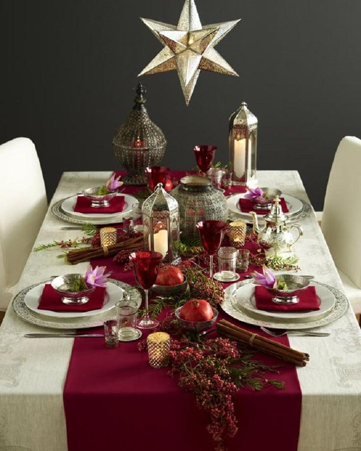 Creativas y originales ideas para decorar tu mesa en navidad - Ideas para cena de nochebuena ...