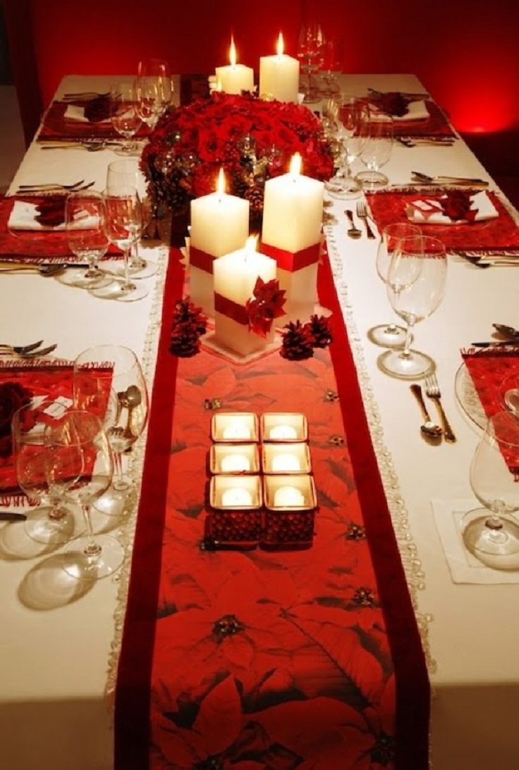 Creativas y originales ideas para decorar tu mesa en navidad - Mesas de navidad decoradas sencillas ...
