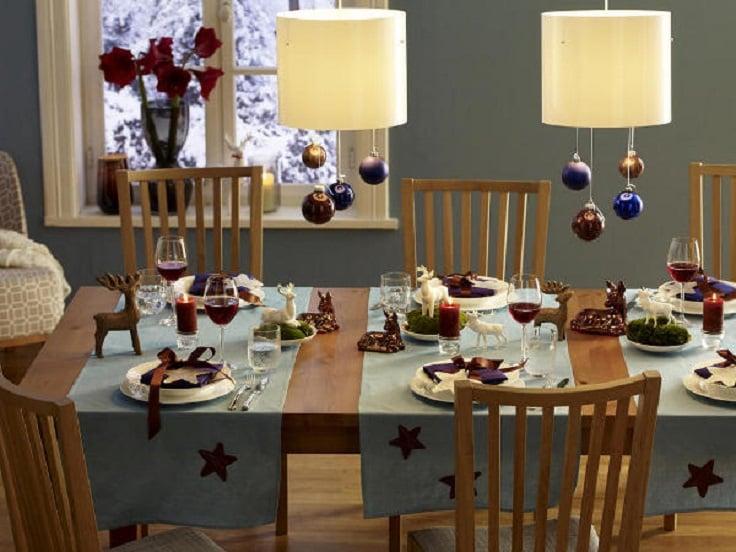 Creativas y originales ideas para decorar tu mesa en navidad - Como decorar la mesa de navidad ...