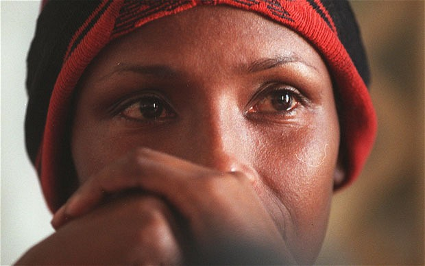 mujer de Gambia