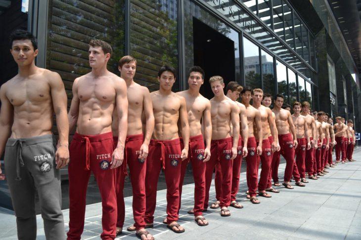 Modelos en pants