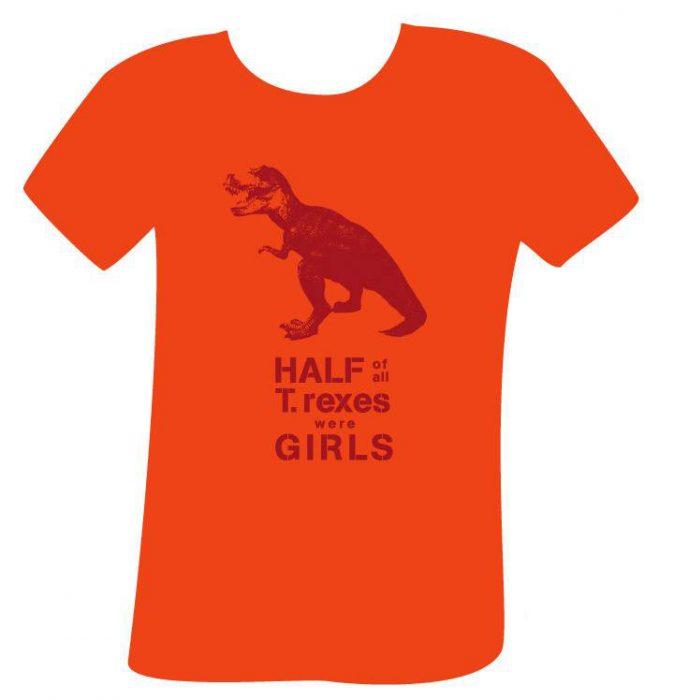 Camisa de dinosaurios