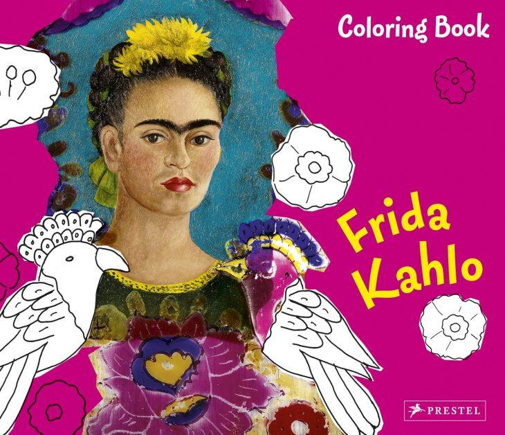 Libro para colorear de Frida Kahlo