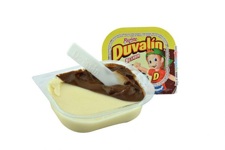 Dulce de chocolate llamado Duvalín