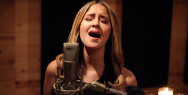 """Karen Rodríguez canta 'Hello"""" de Adele"""