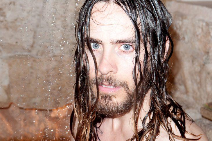 Jared Leto mojado