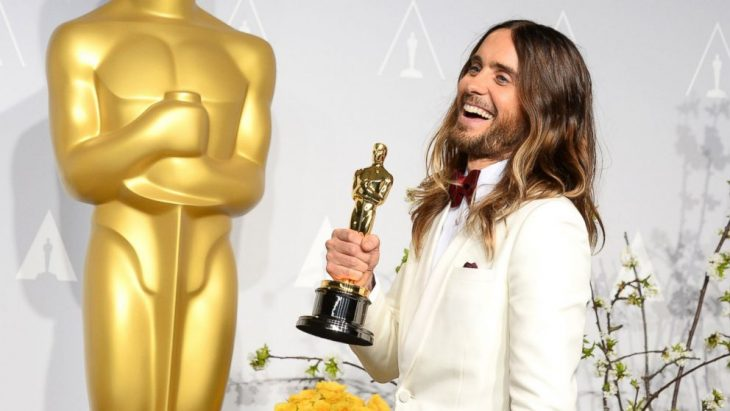 Jared Leto con un Óscar