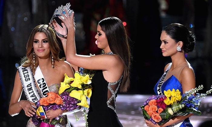 Coronación Ariadna Gutiérrez por Paulina Vega