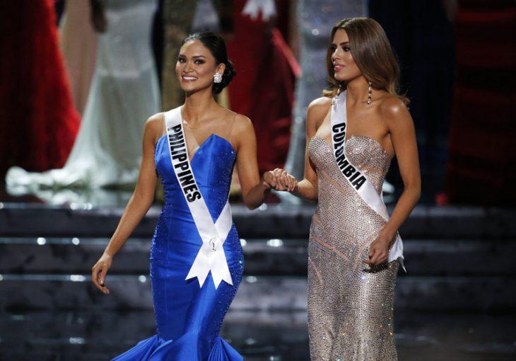 Finalistas Miss Universo 2015 Colombia y Filipinas