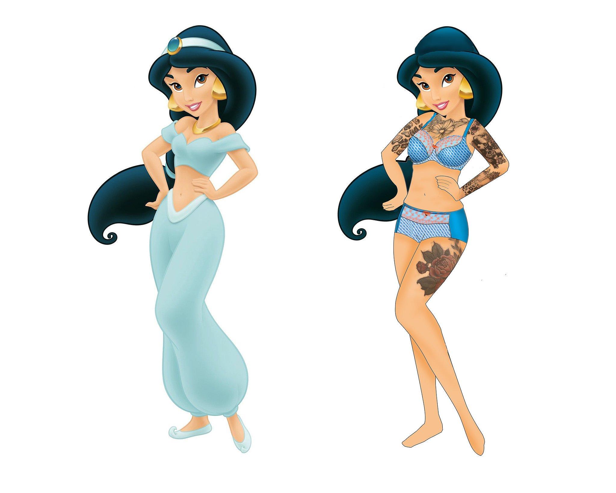Las Princesas De Disney Ahora Son Mujeres Curvy En Lencer 237 A