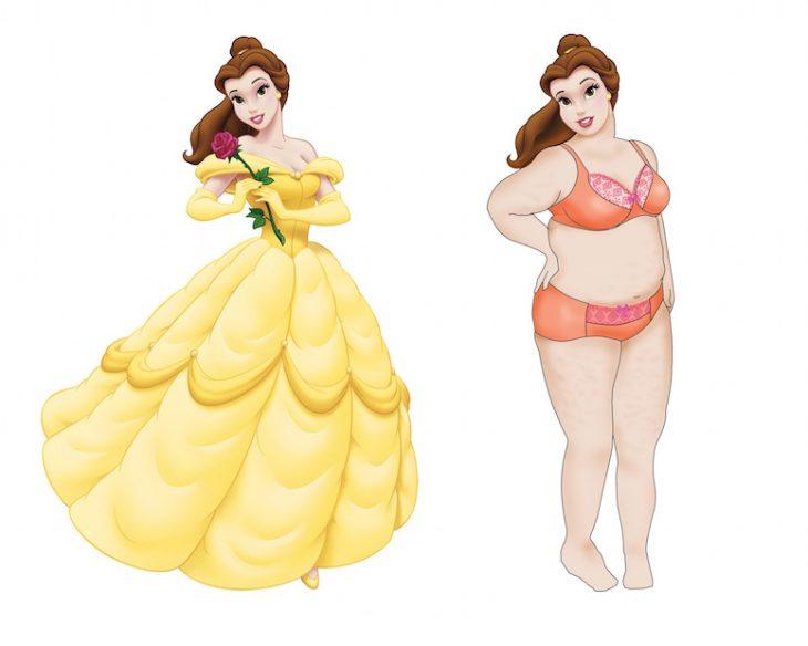 Princesas de Disney Curvy (6)