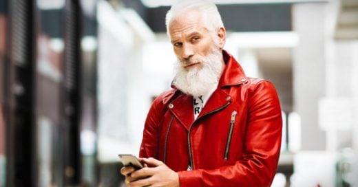 , un centro comercial ubicado en Toronto, Canadá, ha decidido crear a un Santa un poco 'lumbersexual' y muy, muy fashion