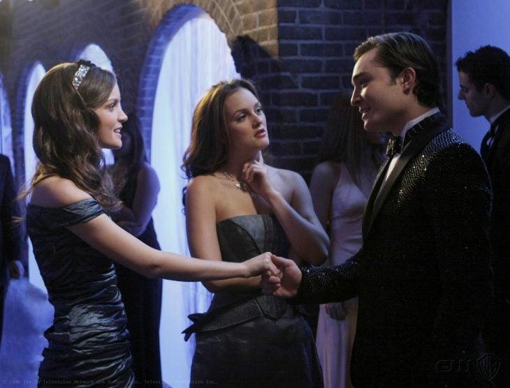 Escena de la serie gossip girls chuk y blair