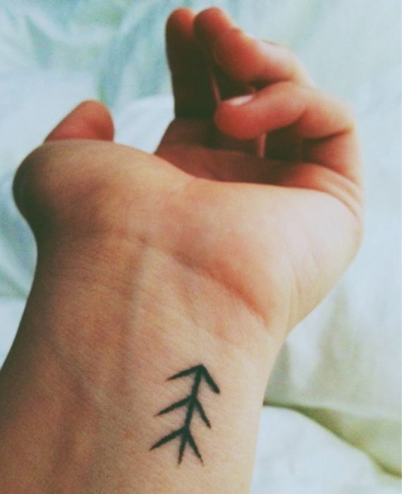 Tatuajes miniatura espiga